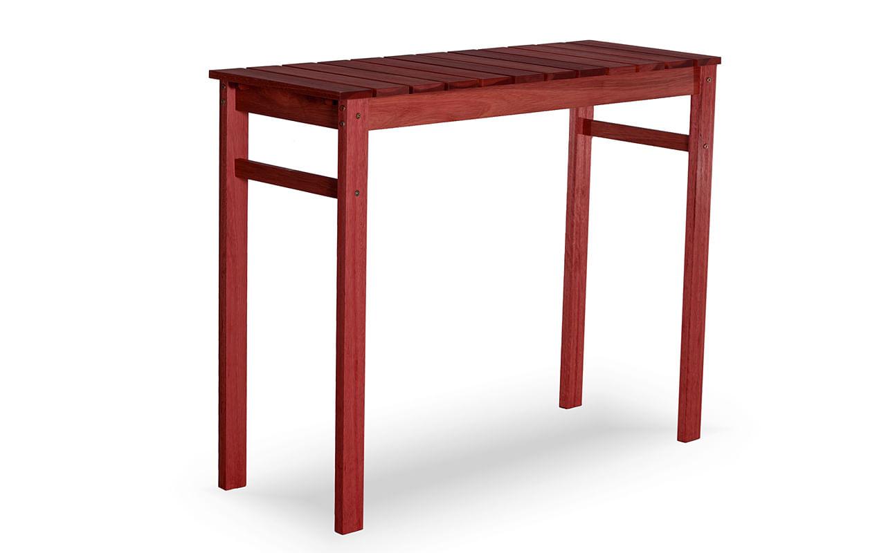 Aparador Quadra Estrutura Vermelha 95cm - 61601