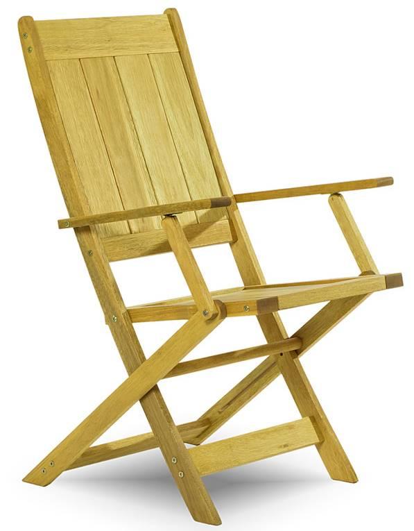 Cadeira Retangular Dobravel Acqualung+ C/ Braco Estrutura Amarelo 99cm - 61641