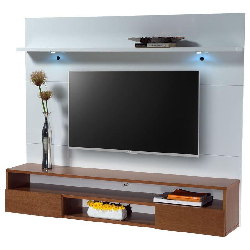 Home-Suspenso-com-LED-Arapi-cor-Laca-Branca-com-Nicho-Chocolate-140-cm---58382
