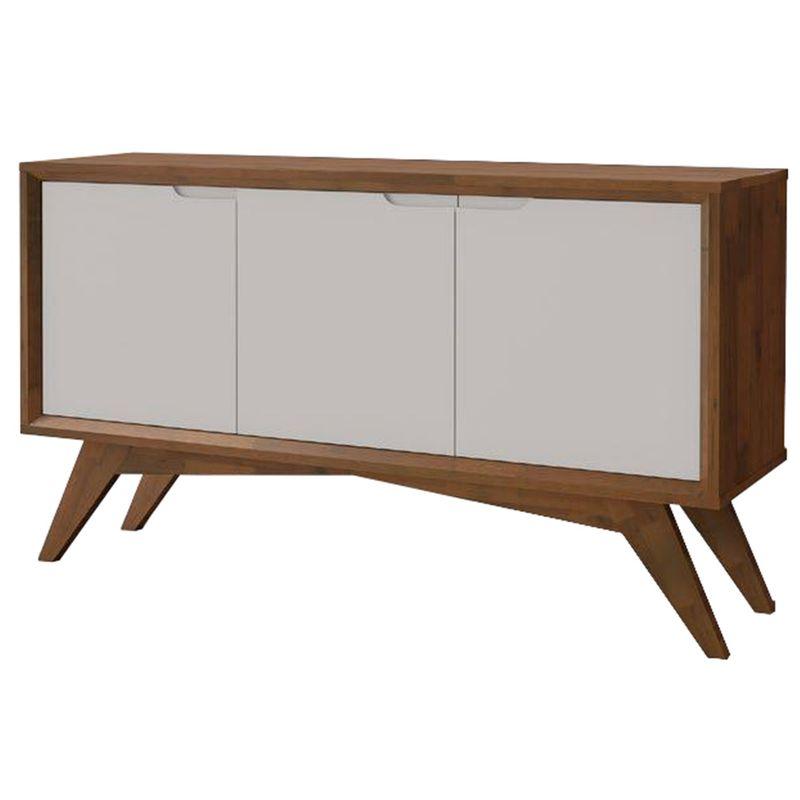 Buffet-Byron-3-Portas-cor-Pinhao-com-Laca-Branco-132-cm---56398