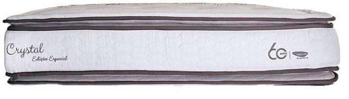 Colchão Casal Crystal Tecido Malha 138x188x35 - 61849