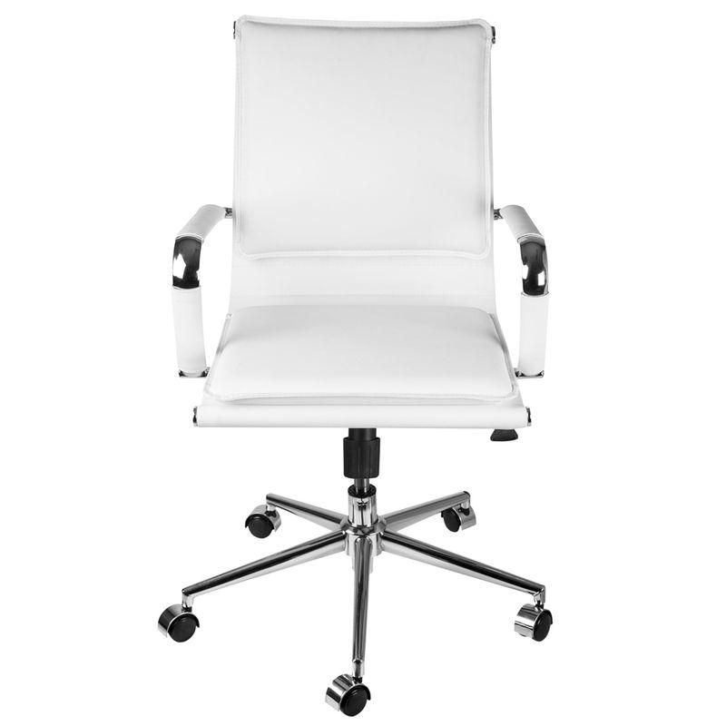 Cadeira-Office-Eames-Baixa-Assento-Courino-Branco-com-Base-Cromada---61946