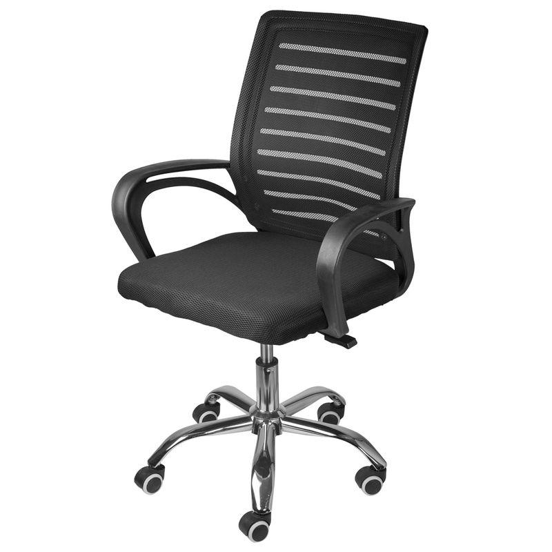 Cadeira-Office-Amani-Baixa-Tela-Mesh-cor-Preta-com-Base-Cromada---61954