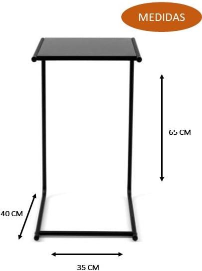 Mesa de Apoio Terans Off White 65cm -62222