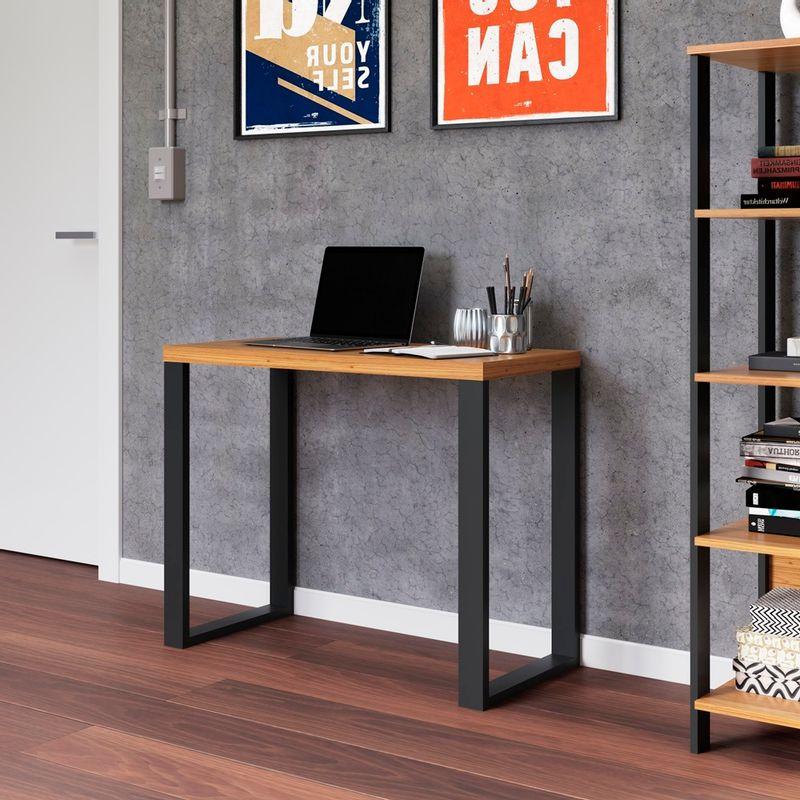 Escrivaninha-Cleveland-cor-Freijo-com-Preto-Fosco-90-cm---62317
