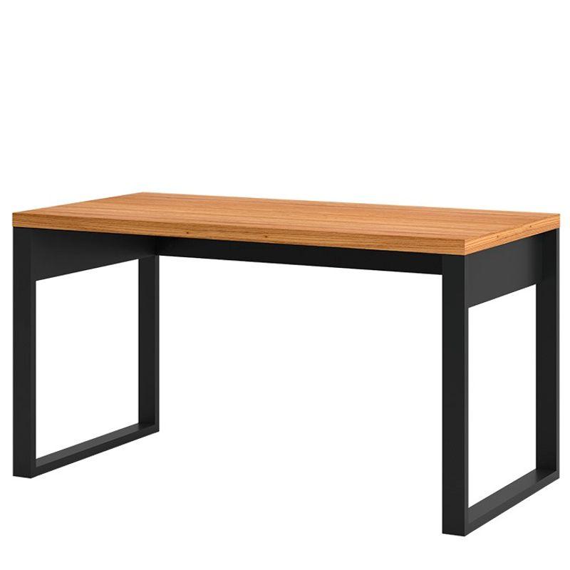 Escrivaninha-Cleveland-cor-Freijo-com-Preto-Fosco-135-cm---62322