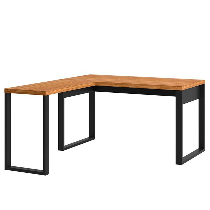 Escrivaninha-Cleveland-em-L-cor-Freijo-com-Preto-Fosco-135-cm---62326