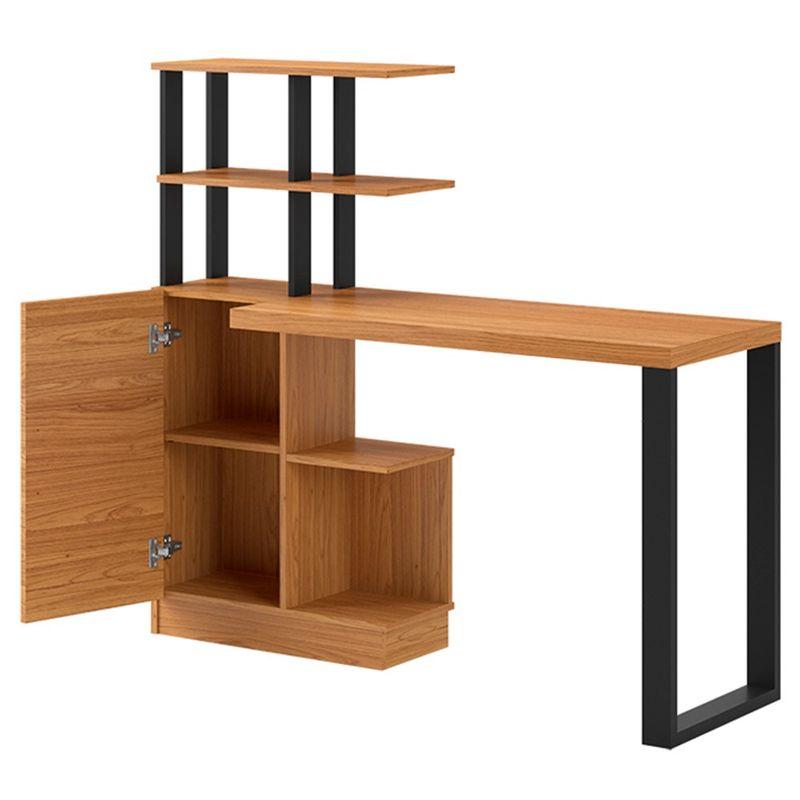 Mesa-Office-Cleveland-1-Porta-cor-Freijo-com-Preto-Fosco-135-cm---62334