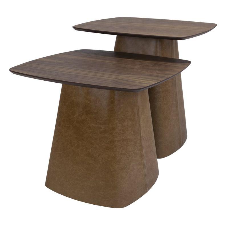 Conjunto-Mesas-Bolero-Tampo-Nogueira-e-Base-Recouro-Caramelo