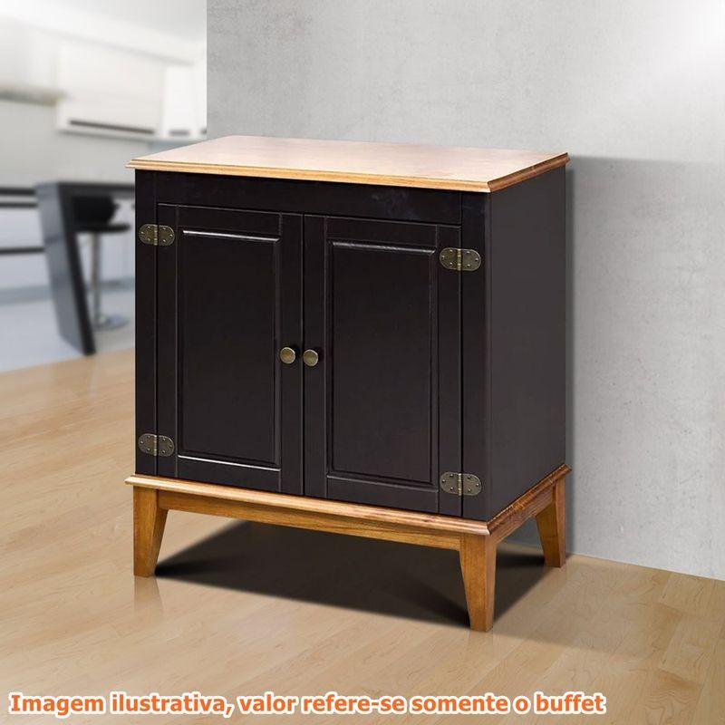 Buffet-Antoine-2-Portas-cor-Preto-e-Amendoa-83cm---60741