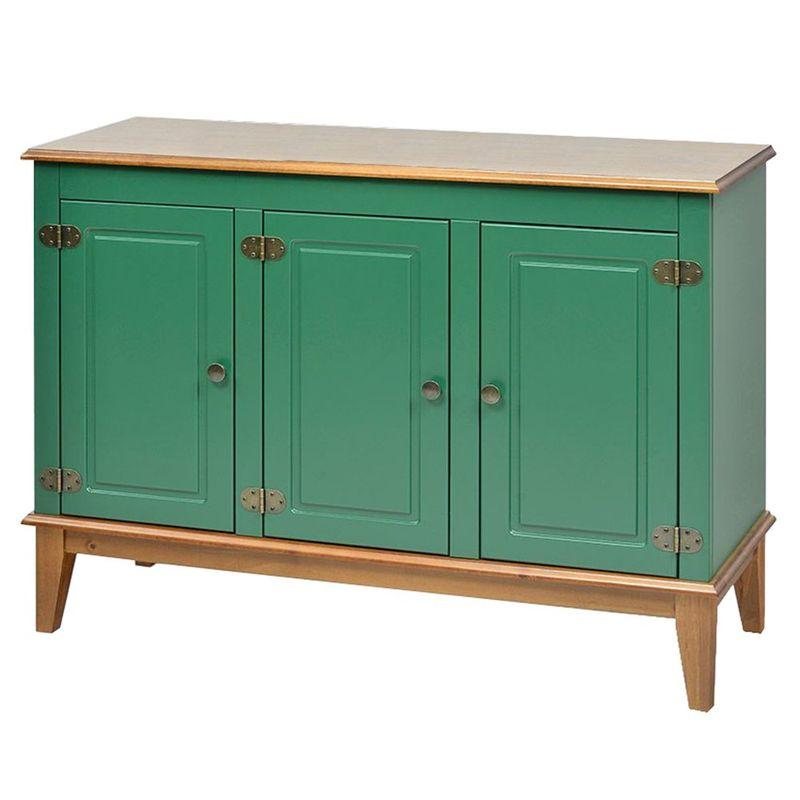 Buffet-Antoine-3-Portas-cor-Verde-com-Amendoa-114-cm---62647