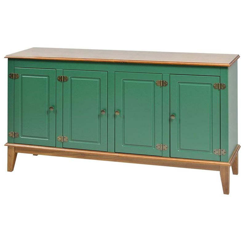 Buffet-Antoine-4-Portas-cor-Verde-com-Amendoa-149-cm---62766