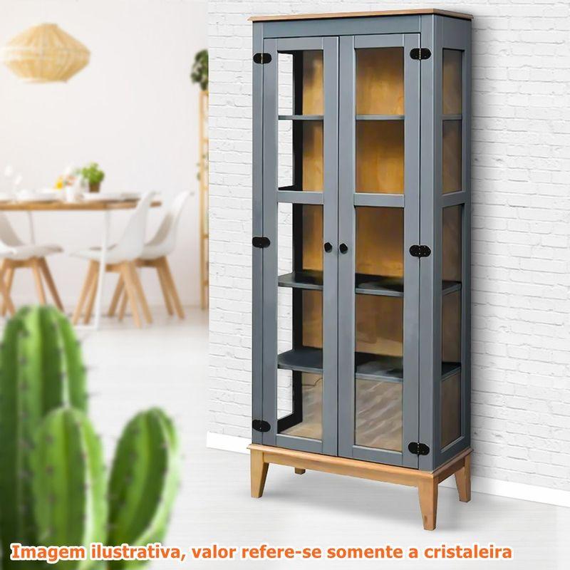 Cristaleira-Bia-2-Portas-cor-Cinza-com-Amendoa-180-cm---62916