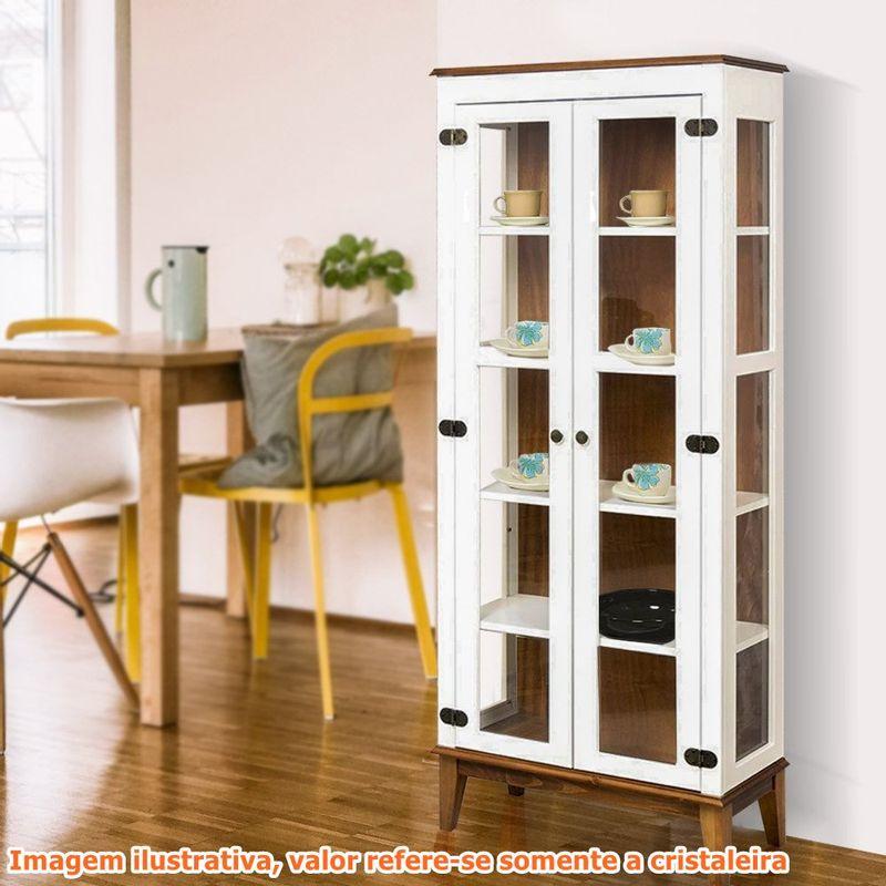 Cristaleira-Bia-2-Portas-cor-Branco-com-Amendoa-180-cm---62924