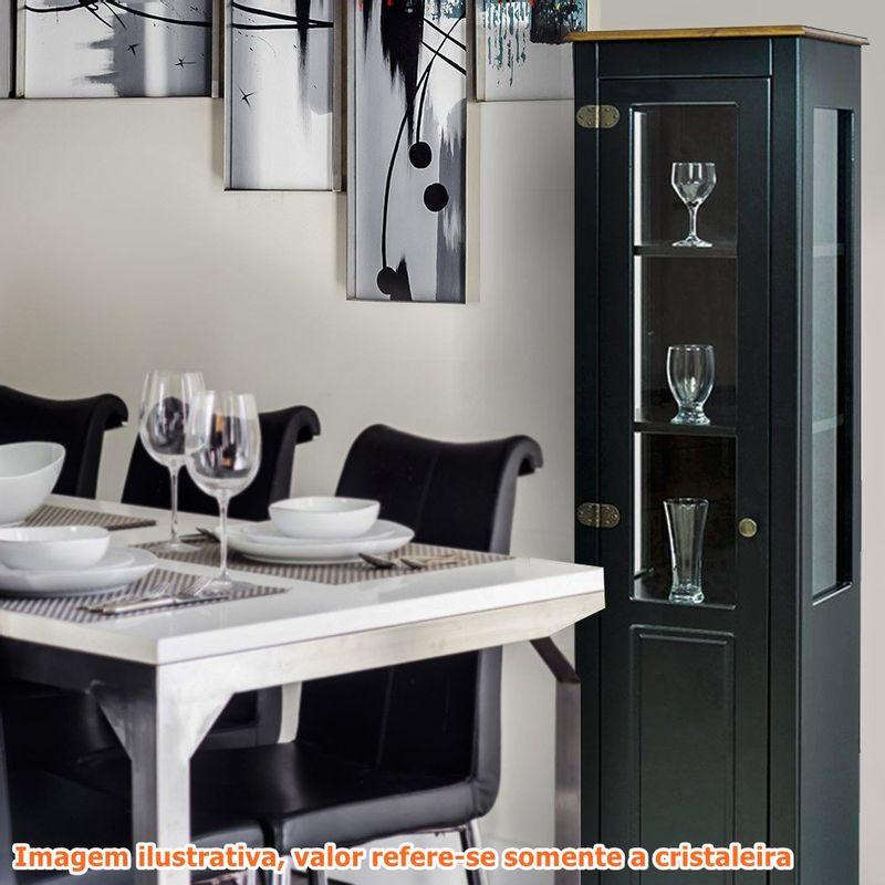 Cristaleira-Laura-1-Porta-cor-Preto-com-Amendoa-180-cm---63428