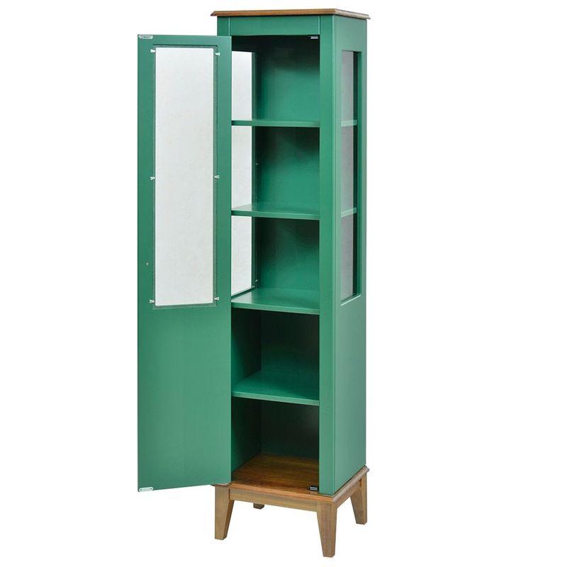 Cristaleira-Laura-1-Porta-cor-Verde-com-Amendoa-180-cm---63429