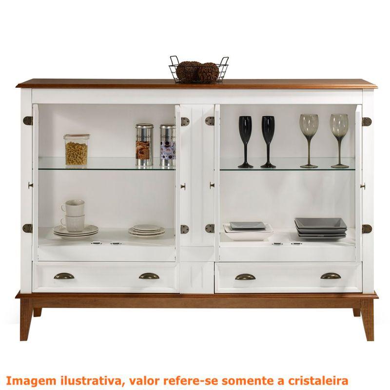 Cristaleira-Agatha-4-Portas-e-2-Gavetas-cor-Branco-com-Amendoa-149-cm---63539