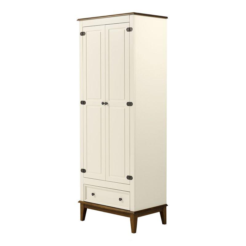 Armario-Malibu-2-Portas-e-1-Gaveta-cor-Off-White-com-Amendoa-204-cm---63568