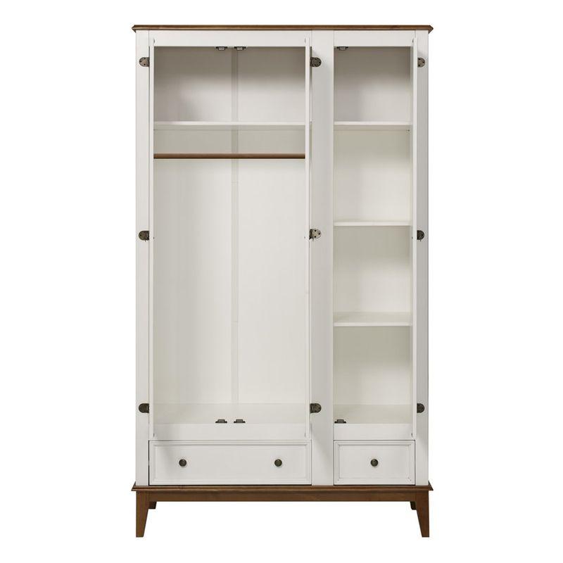 Armario-Malibu-3-Portas-e-2-Gavetas-cor-Branco-com-Amendoa-204-cm---63590-