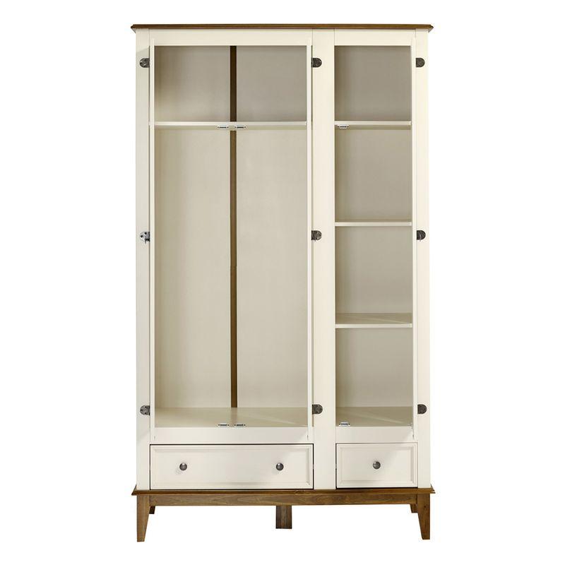 Armario-Malibu-3-Portas-e-2-Gavetas-cor-Off-White-com-Amendoa-204-cm---63656