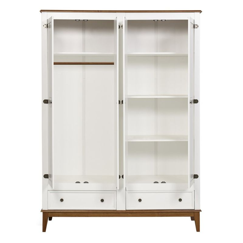 Armario-Malibu-4-Portas-e-2-Gavetas-cor-Branco-com-Amendoa-204-cm---63668