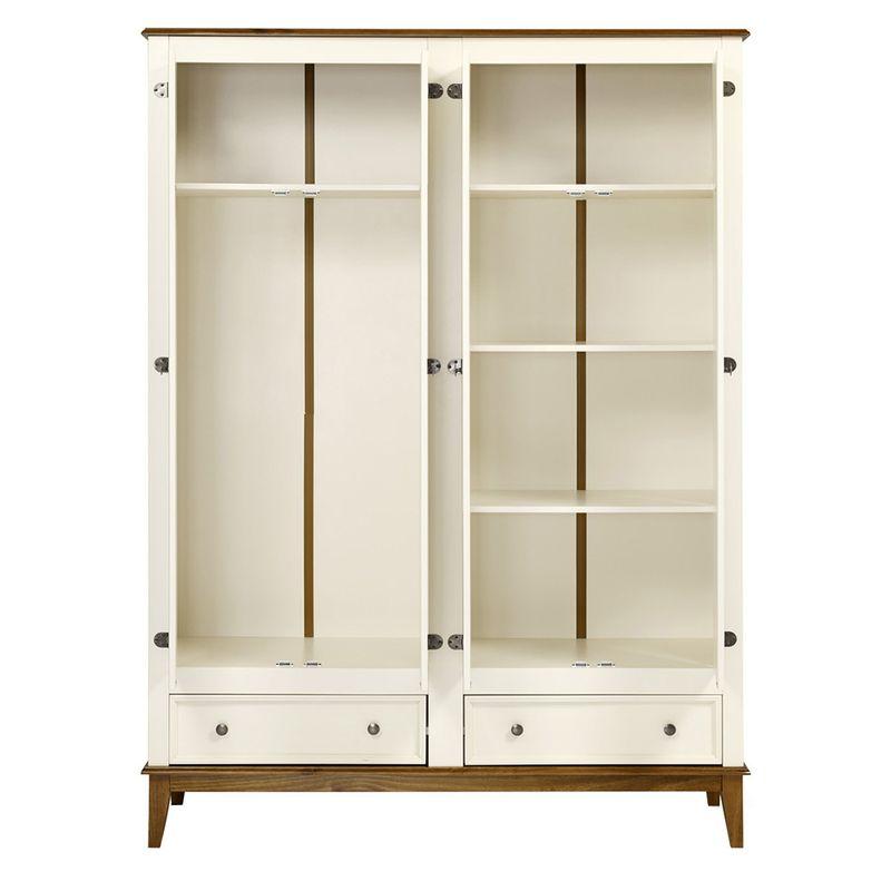 Armario-Malibu-4-Portas-e-2-Gavetas-cor-Off-White-com-Amendoa-204-cm---63669